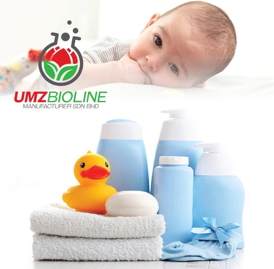 Produk penjagaan bayi jenama anda