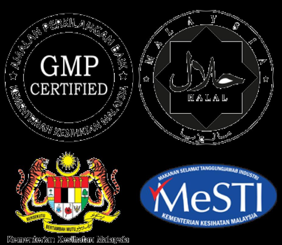 logo pengiktirafan - Halal OEM Manufacturer