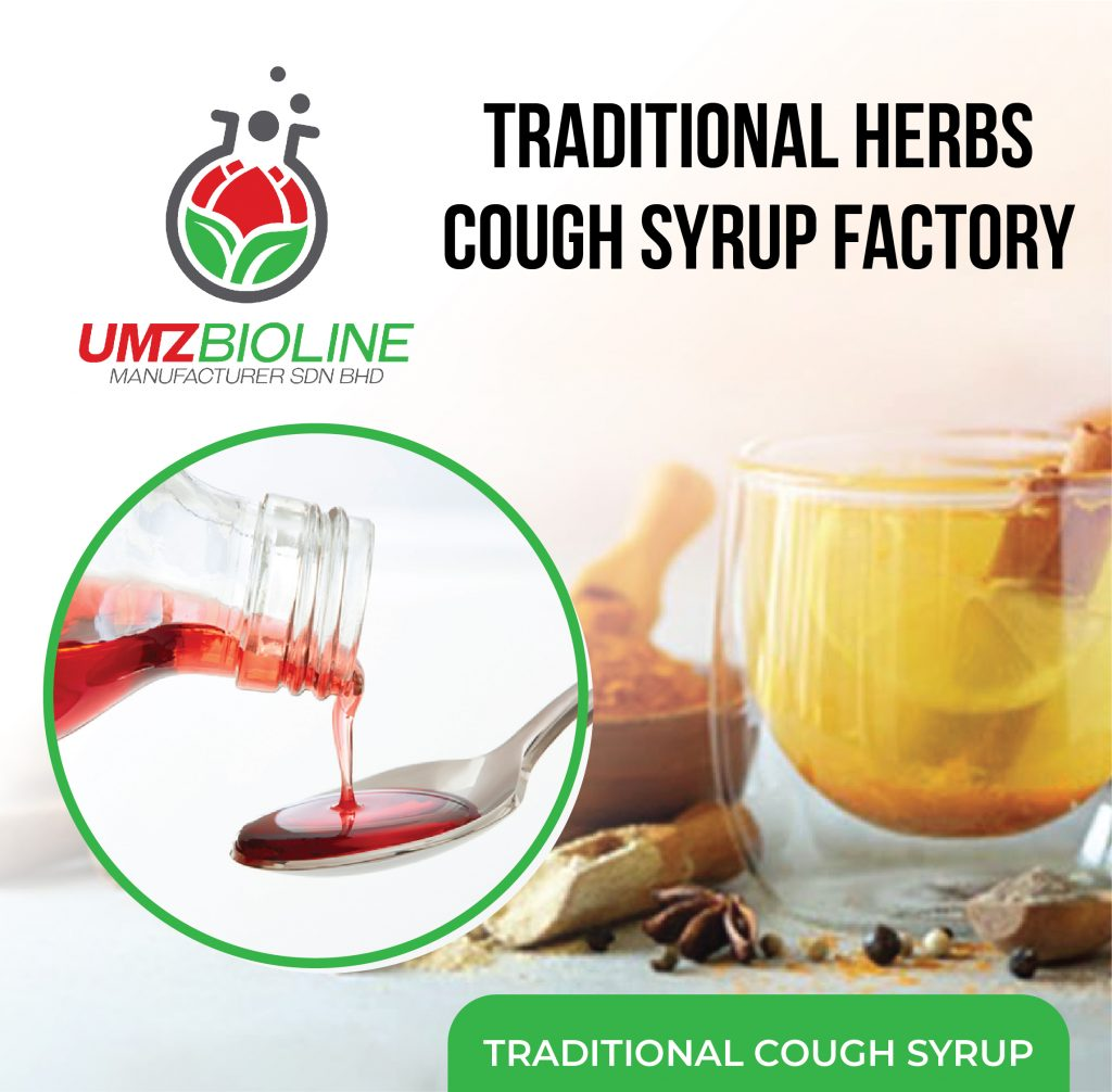 Traditional Herbal Cough Medicine: Factory Choice of 3 Popular Brands in Malaysia